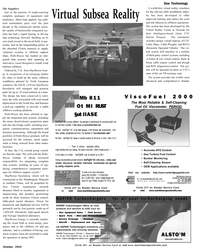 Maritime Reporter Magazine, page 39,  Oct 2002 Virtual Subsea Reality Sea Technology