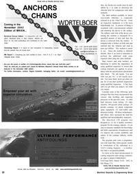 Maritime Reporter Magazine, page 51,  Oct 2002