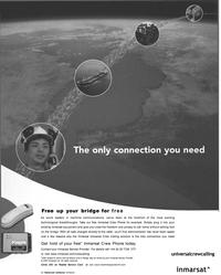 Maritime Reporter Magazine, page 7,  Oct 2002 Inmarsat Ltd.