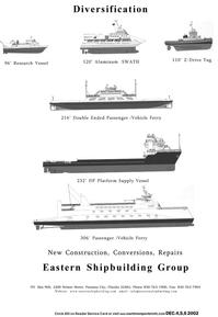 Maritime Reporter Magazine, page 15,  Nov 2002