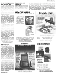 Maritime Reporter Magazine, page 25,  Nov 2002 cellular telephone