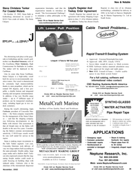 Maritime Reporter Magazine, page 29,  Nov 2002