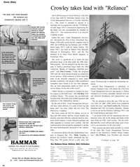 Maritime Reporter Magazine, page 36,  Nov 2002 Wisconsin