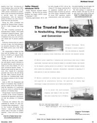 Maritime Reporter Magazine, page 43,  Nov 2002
