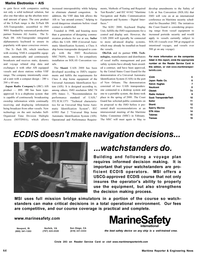 Maritime Reporter Magazine, page 4th Cover,  Nov 2002