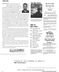 Maritime Reporter Magazine, page 6,  Nov 2002