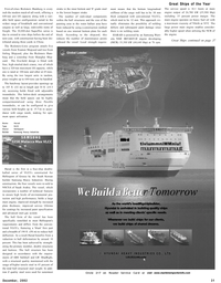 Maritime Reporter Magazine, page 31,  Dec 2002 higher tensile steel