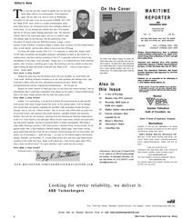 Maritime Reporter Magazine, page 6,  Dec 2002 Dale Barnett