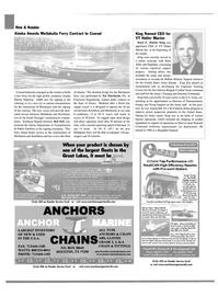 Maritime Reporter Magazine, page 8,  Jan 2003