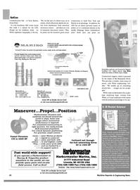 Maritime Reporter Magazine, page 16,  Jan 2003