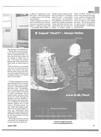Maritime Reporter Magazine, page 17,  Jan 2003 Air Force One