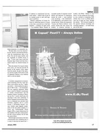 Maritime Reporter Magazine, page 17,  Jan 2003