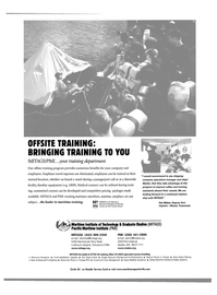 Maritime Reporter Magazine, page 23,  Jan 2003 Institute of Technology