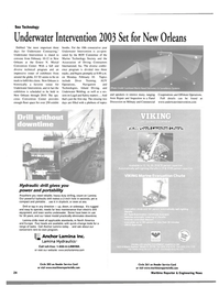 Maritime Reporter Magazine, page 24,  Jan 2003