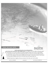 Maritime Reporter Magazine, page 1,  Jan 2003