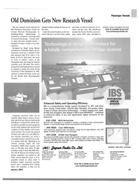 Maritime Reporter Magazine, page 37,  Jan 2003