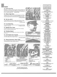 Maritime Reporter Magazine, page 2,  Jan 2003