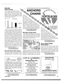 Maritime Reporter Magazine, page 45,  Jan 2003