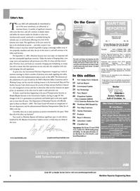 Maritime Reporter Magazine, page 6,  Jan 2003
