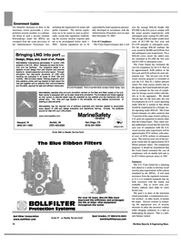 Maritime Reporter Magazine, page 16,  Feb 2003