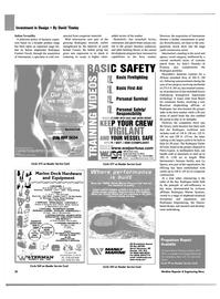 Maritime Reporter Magazine, page 20,  Feb 2003
