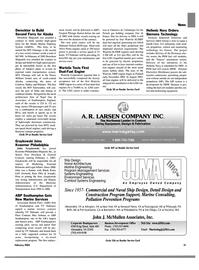 Maritime Reporter Magazine, page 21,  Feb 2003