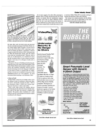 Maritime Reporter Magazine, page 29,  Feb 2003 United States