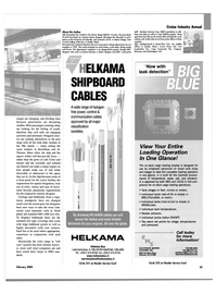 Maritime Reporter Magazine, page 33,  Feb 2003 Indiana