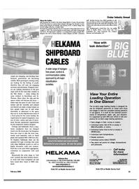 Maritime Reporter Magazine, page 33,  Feb 2003