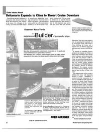 Maritime Reporter Magazine, page 34,  Feb 2003