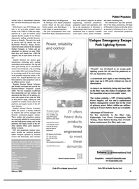 Maritime Reporter Magazine, page 39,  Feb 2003 areas