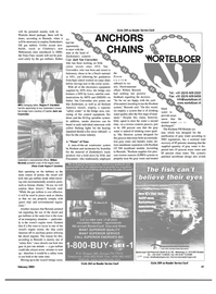 Maritime Reporter Magazine, page 41,  Feb 2003 waste products