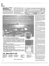 Maritime Reporter Magazine, page 44,  Feb 2003