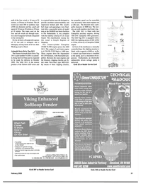 Maritime Reporter Magazine, page 4th Cover,  Feb 2003