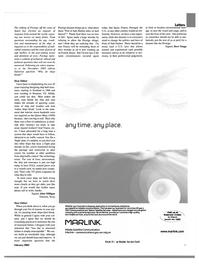 Maritime Reporter Magazine, page 5,  Feb 2003