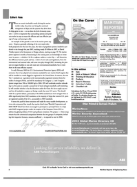 Maritime Reporter Magazine, page 6,  Feb 2003 Robert Clifford