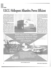 Maritime Reporter Magazine, page 10,  Mar 2003