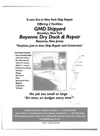 Maritime Reporter Magazine, page 11,  Mar 2003 Carl Gomez