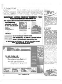 Maritime Reporter Magazine, page 42,  Mar 2003 Europe