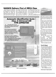 Maritime Reporter Magazine, page 10,  May 2003