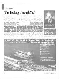 Maritime Reporter Magazine, page 18,  May 2003 Nova Scot