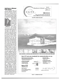 Maritime Reporter Magazine, page 25,  May 2003 cctv@hernis.no Internet