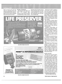 Maritime Reporter Magazine, page 32,  May 2003 advisory services