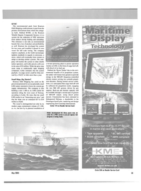 Maritime Reporter Magazine, page 35,  May 2003 marine and naval applications