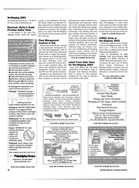 Maritime Reporter Magazine, page 38,  May 2003 Wisconsin