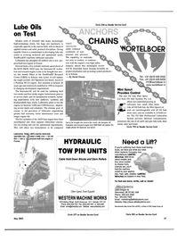 Maritime Reporter Magazine, page 57,  May 2003 oil