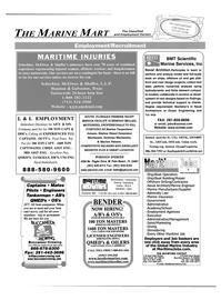 Maritime Reporter Magazine, page 70,  May 2003 Washington