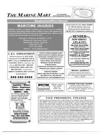 Maritime Reporter Magazine, page 100,  Jun 2003