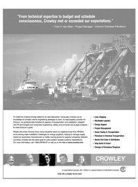 Maritime Reporter Magazine, page 11,  Jun 2003