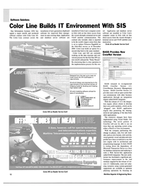 Maritime Reporter Magazine, page 12,  Jun 2003 operating system